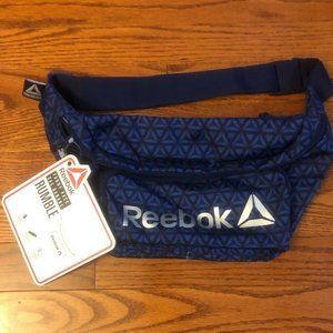 NEW Reebok Rumble Fanny Pack Aztec Blue waist